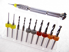 1.0mm to 3.0mm Pin Vise Micro Drill Bit Kit for Modeling Carving Jewelry more...