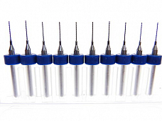 .50mm Tungsten Carbide Micro Drill Bits Japanese made for CNC PCB more...