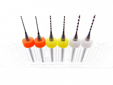 6pc .6mm .8mm 1.0mm (2 each) 3D Printer Clogged Extruder Nozzle Head Cleaner