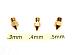 .3mm .4mm .5mm 3D Printer Nozzle for MK7 MK8 makerbot RepRap 1.75mm ABS PLA