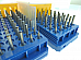 100pc .35mm Carbide Micro Drill Bits Circuit Board Toy Making Soft Metals more..