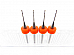 4pc .6mm 3D Printer Clogged Extruder Nozzle Head Cleaner Bits