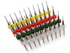 40 pack .4mm .5mm .6mm .7mm Micro Drill Bit Kit Modeling Watch Repair more...