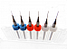 6pc .2mm .3mm .4mm (2 each) 3D Printer Clogged Extruder Nozzle Head Cleaner