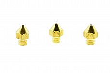 3D Printer Accessories Large Diameter Extruder Nozzles 1mm 1.5mm 2mm Brass
