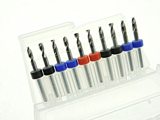3.0mm 3.05mm 3.1mm 3.15mm 3.2mm CNC PCB FR4 Drill Bits Modeling Trains Cars