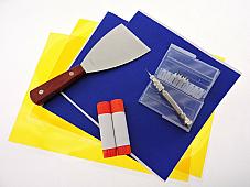 3D Printer Accessory Kit Jam .4mm Blue Painters Tape Kapton Tape Removal Tool