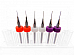 6pc .3mm .4mm .5mm (2 each) 3D Printer Clogged Extruder Nozzle Head Cleaner