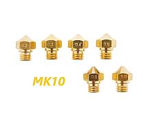 3D Makerbot 2 M7 Thread MK10 Nozzle for 1.75MM .2 .3 .4 .5 .8 1.0mm Nozzles